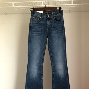 NWT 7 for all mankind the original bootcut jean